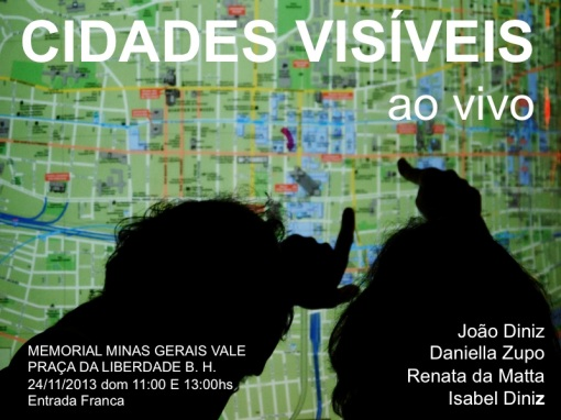 joao diniz Cidades Visiveis flyer